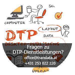 DTP-Dienstleistungen